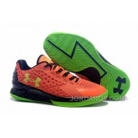 Christmas Deals Womens Under Armour Curry One Low Bolt Orange