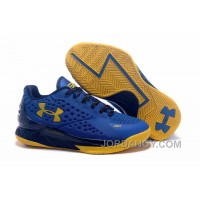 Lastest Womens Under Armour Curry One Low Warriors