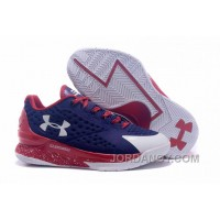 Top Deals Womens Under Armour Curry One Low Purple Red White