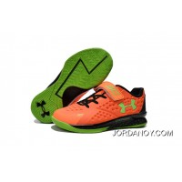 Under Armour Kids Orange Green Shoes Online