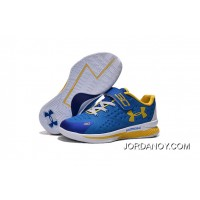 Under Armour Kids Blue White Shoes Top Deals