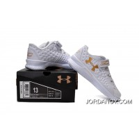 Under Armour Kids White Shoes Authentic