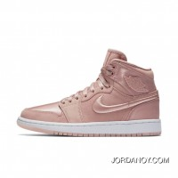 WMNS Air Jordan 1 Hi Summer Of High Slit Pink Silks And Satins For Sale