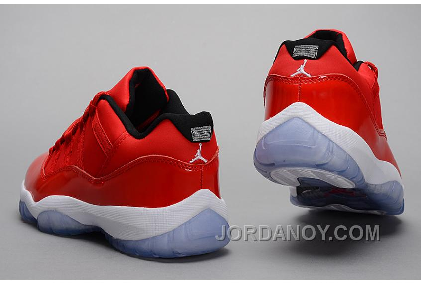 Authentic Sale Air Jordan 11 Retro Red PE Carmelo Anthony Red White Online