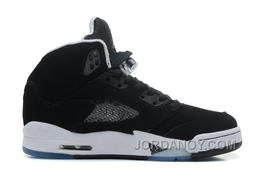 "on sale 1f39c b096f Online Air Jordans 5 Retro ""Oreo"" Black Cool Grey-White For Sale, Price    85.02 - Michael Jordan Shoes, Cheap Air Jordan Shoes - JordanOy.com"