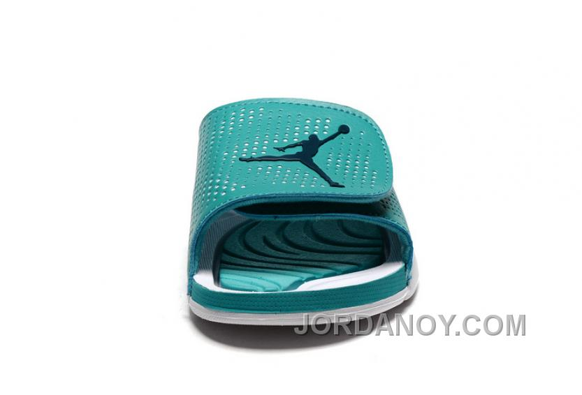 hot sale online 5bc8d b3f8b 2017 Jordan Hydro 5 Retro Mint Green White For Sale