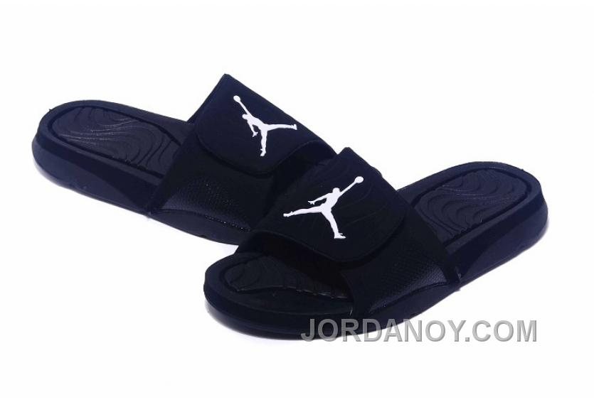 c433a6c4e84074 2017 Jordan Hydro IV Retro All Black Cheap To Buy