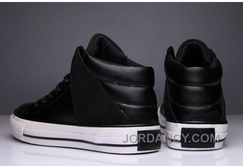 08733697a8 Black High Tops CONVERSE Leather Padded Collar Terminator Genisys Chuck  Taylor All Star For Sale DePEzxc