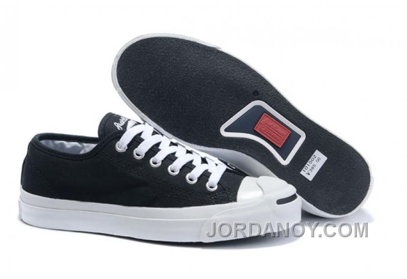0f53471d6d9 Black CONVERSE Jack Purcell Canvas Shoes Free Shipping ERxT3