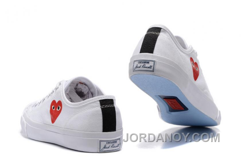 CONVERSE Jack PURCELL 151019C Comme Des Garcons Love Heart White New Release