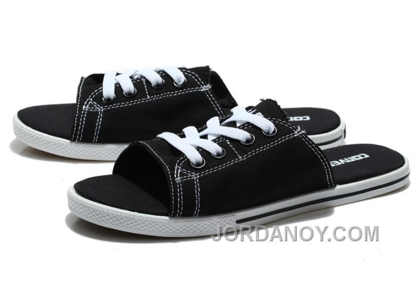 e67ddfc84232 Black CONVERSE Cutaway EVO Summer Chuck Taylor All Star Slippers Top Deals  Gtydk