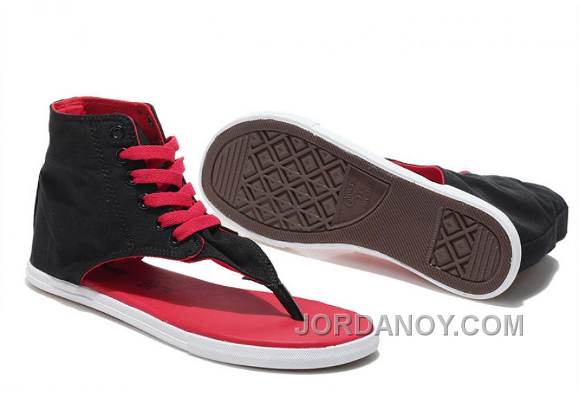 553e884cb8a7 CONVERSE New Age CT All Star Roman Sandals Flip Flops Black Red Cheap To  Buy GMiYB