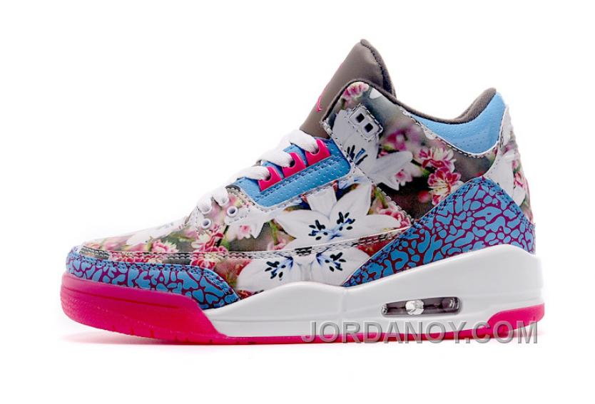 competitive price 6341c d4736 ... spain 2017 air jordan 3 gs school season brown blue pink shoes super  deals fd7ce 4282c