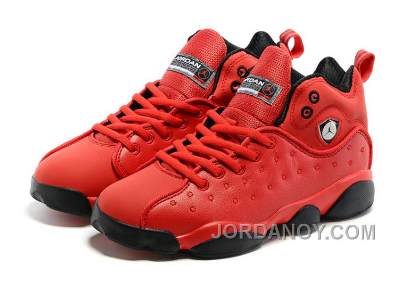 "4a66f1fa30ef Super Deals Jordan Jumpman Team 2 GS ""Raging Bull"" All-Red"