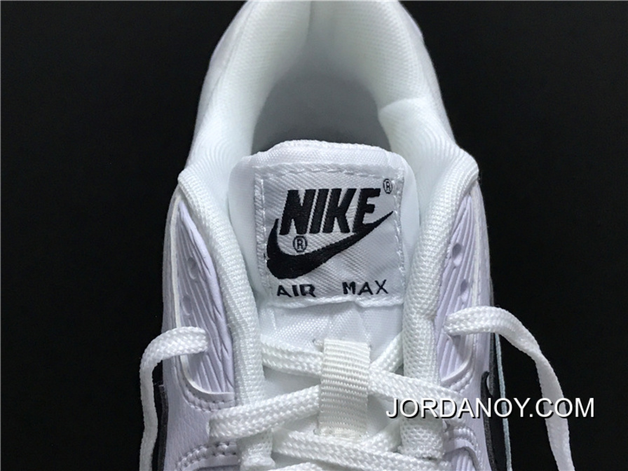 fe40471f9472 2018 New Style Nike Air Max 90 325213-131 Essential Retro Zoom Running Shoes  White