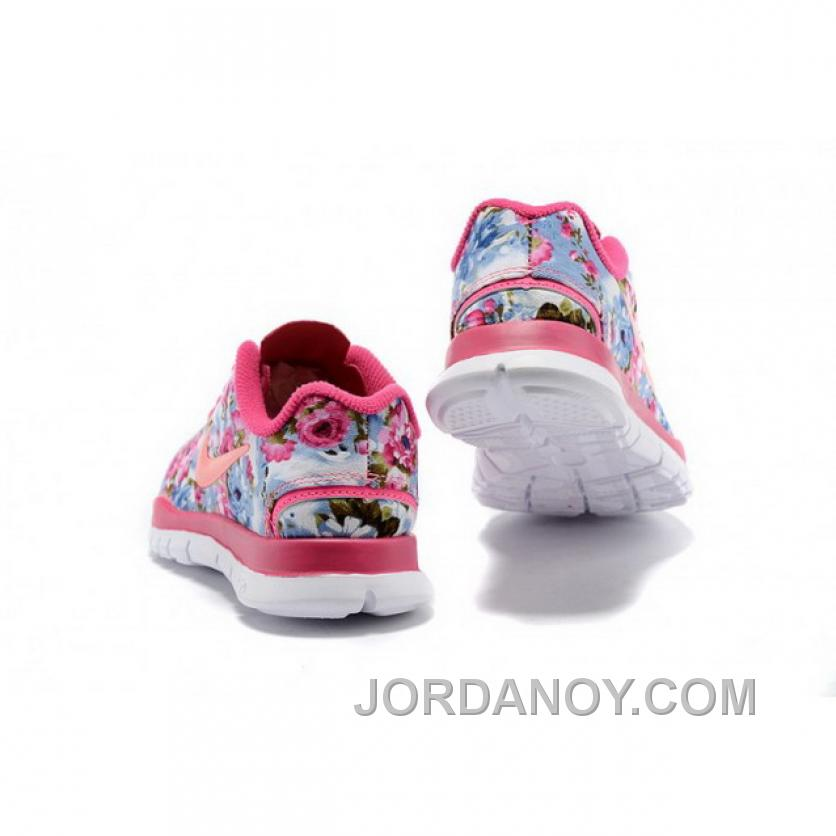 huge discount 71013 2dbea Nike Free TR Fit Kid Pink Orange Shoes New Style