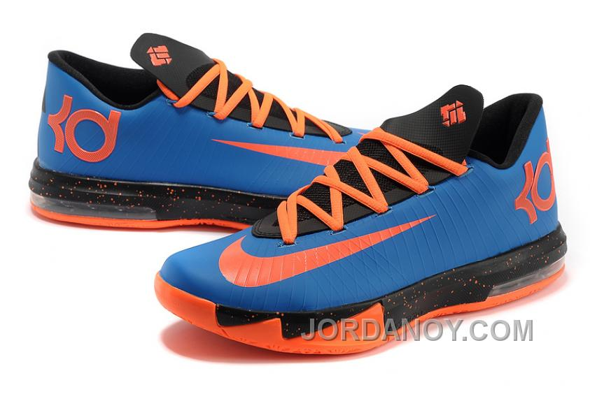 the latest 29006 d2792 Cheap To Buy Nike Kevin Durant KD 6 VI Royal Blue Black-Orange For
