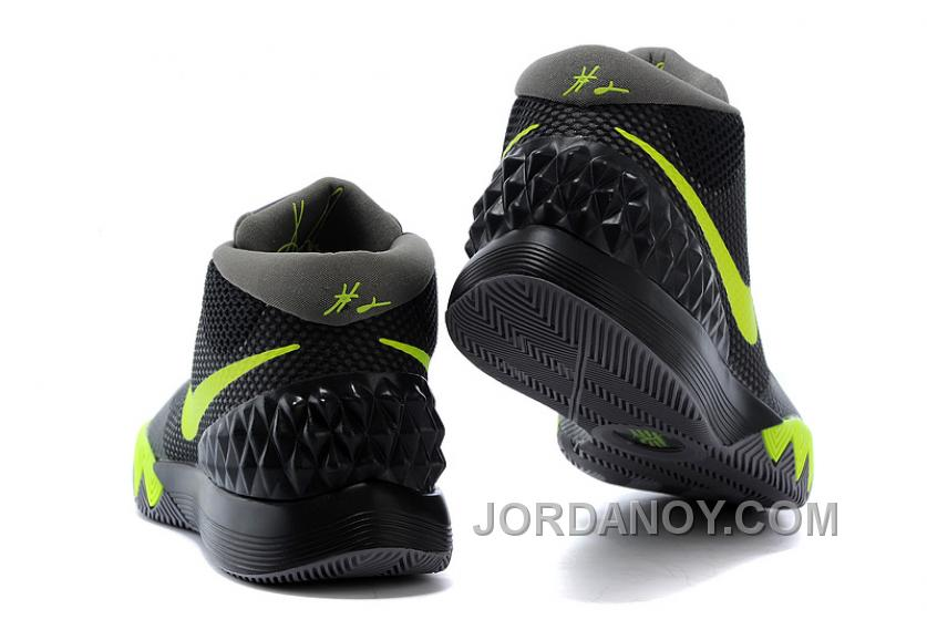 new styles ae02c 7bb57 Online Nike Kyrie 1 Black Fluorescent Green Ash