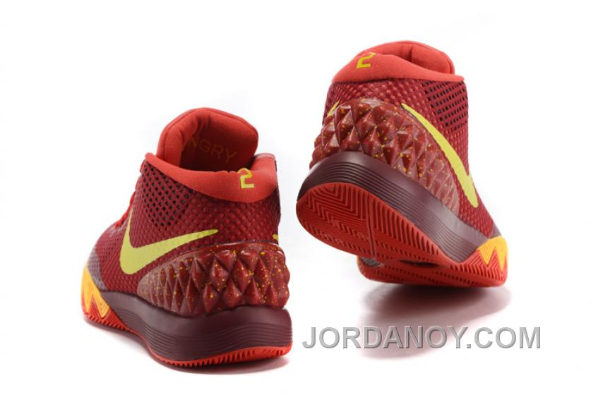 2cfdde6387f Lastest Nike Kyrie 1 Women Shoes Red Yellow