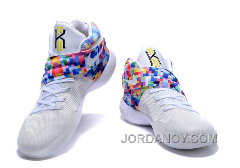 new product 406b1 c25ee Top Deals Nike Kyrie 2 Colorful White 2016