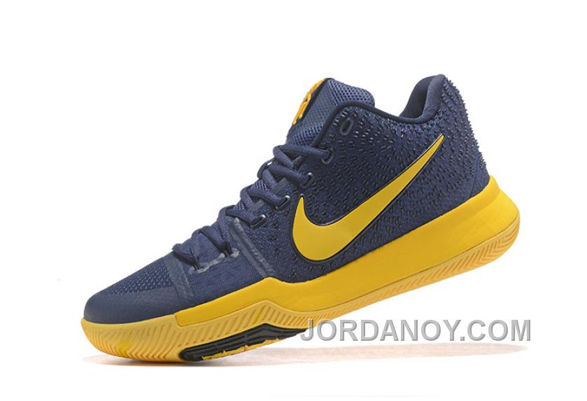 size 40 bb6a5 3f33d Nike Kyrie 3 Mens BasketBall Shoes Cavs Yellow Super Deals SGPCeb