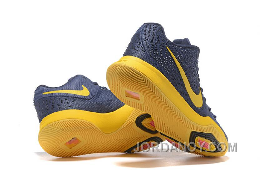 size 40 d81a7 961bf Nike Kyrie 3 Mens BasketBall Shoes Cavs Yellow Super Deals SGPCeb