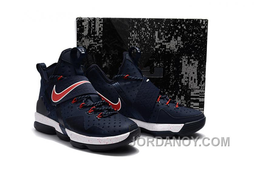 low priced 55e9d 70290 Nike LeBron 14 SBR Navy Blue Red Online