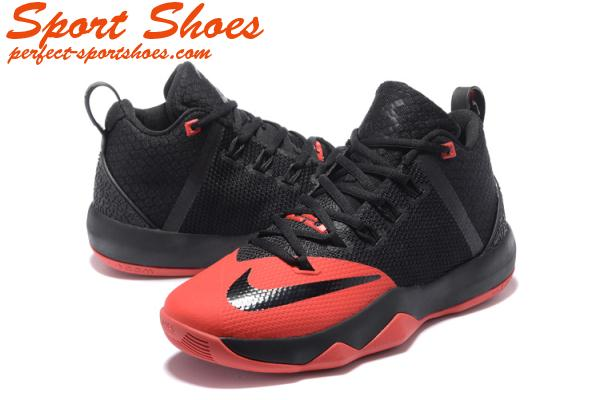 save off 42662 f7238 Nike LeBron Ambassador 9 Basketball Shoes Black Red Super Deals