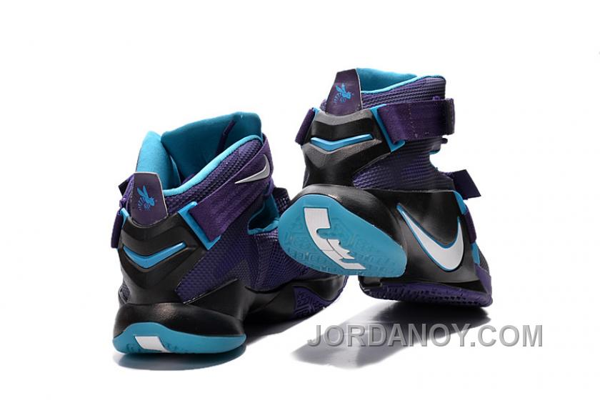 "dc5190f59b1287 Nike LeBron Soldier 9 ""Summit Lake Hornets"" Basketball Shoe Online ..."