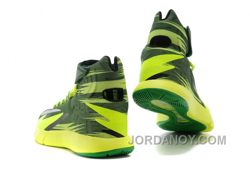8600721283c3 Christmas Deals Nike Zoom Hyperrev KYRIE IRVING Black Metallic Silver Electric  Green For Sale