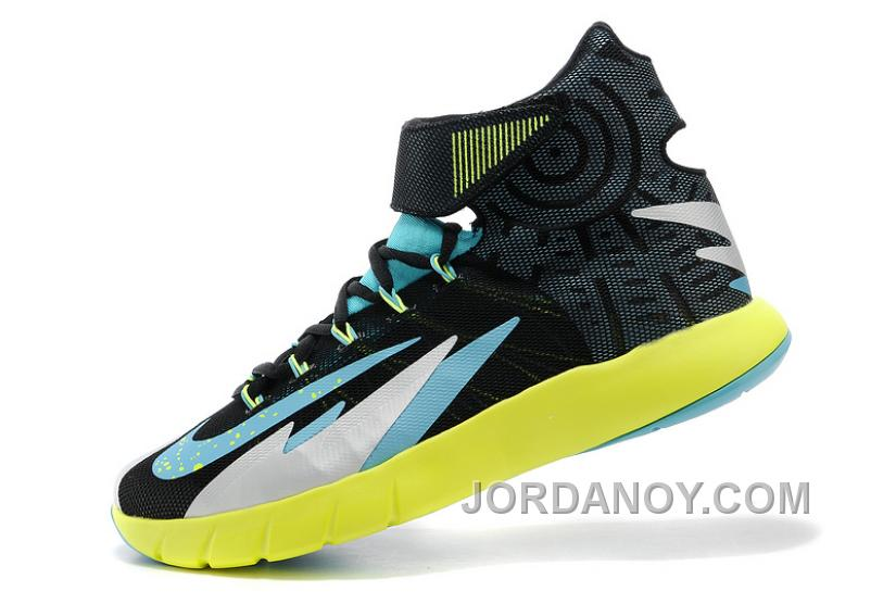 quality design 930dd 6b702 Nike Zoom Hyperrev KYRIE IRVING Black Venom Green Metallic Silver Turbo  Green Lastest