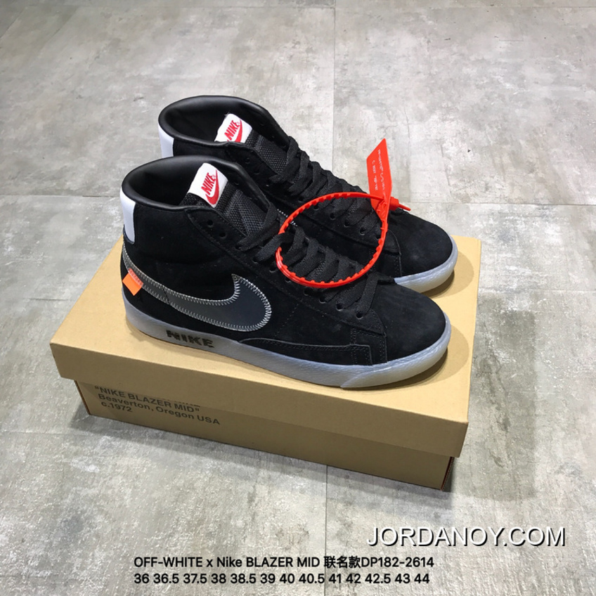 8c4cb2089981 OFF-WHITE X Nike BLAZER MID Joint Publishing High DP182-2614 2018 Outlet