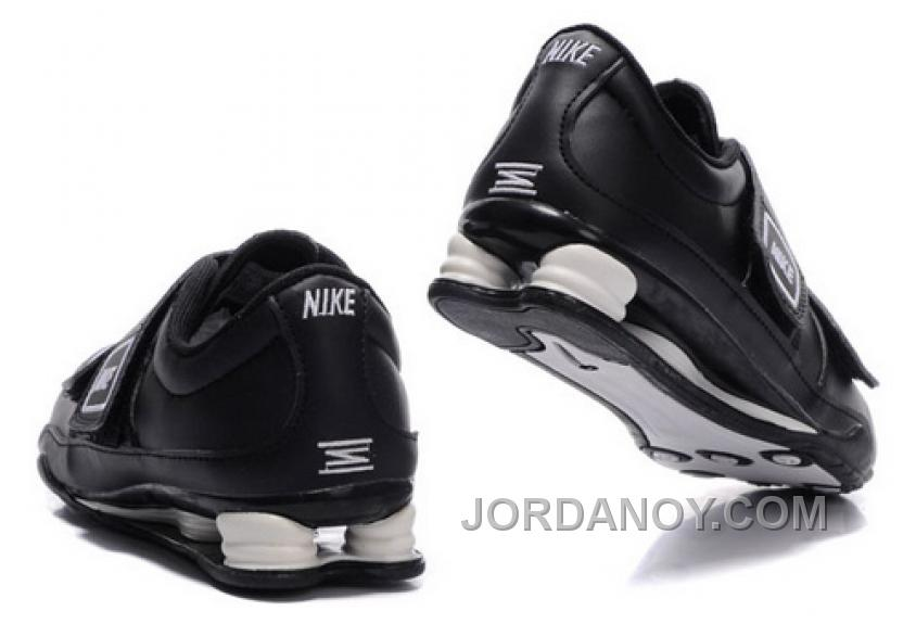 code promo 81f6c ec625 Men's Nike Shox R3 Shoes Black/White For Sale