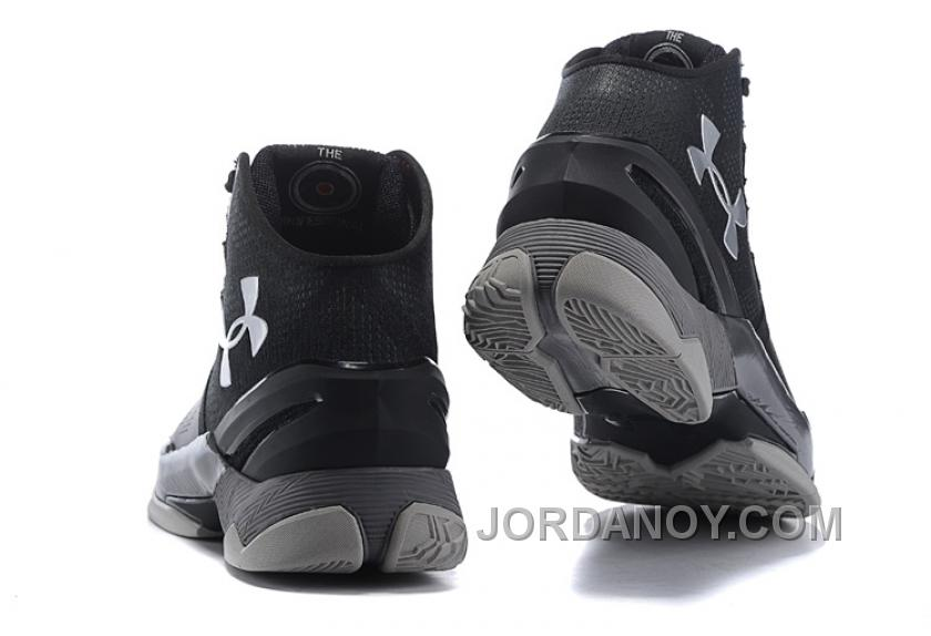 """13f18215fe4d Under Armour Curry 2 """"The Professional"""" Black Grey Silver Shoes For Sale  Christmas Deals"""