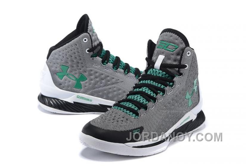 Hot Now Under Armour UA Curry One (1) Golf Grey-Green/Scratch White