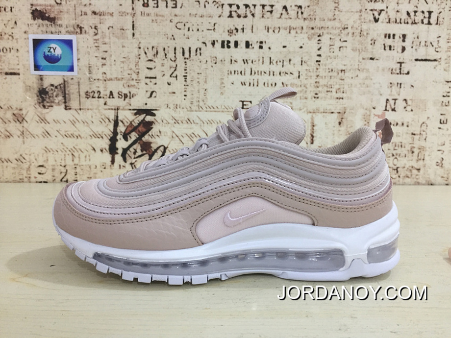 51ca03958c FULL GRAIN LEATHER Nike 97 Bullet Undefeated X Air Max 97 Joint 97 Bullet  Snakeskin Pink